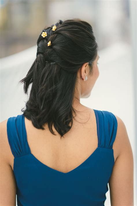Simple Bridesmaid Hairstyles For Hair by 5 And Easy Bridesmaid Hairstyles The Everygirl