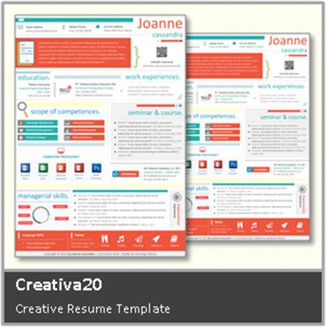 template cv yang unik desain cv kreatif contoh cv yang menarik