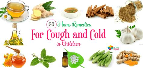 top 20 home remedies for cough and cold for babies and
