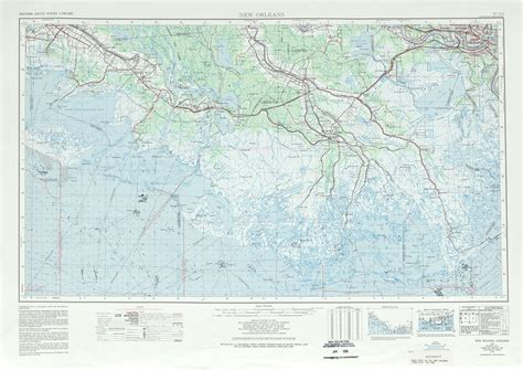 united states topographic map new orleans topographic map sheet united states full size