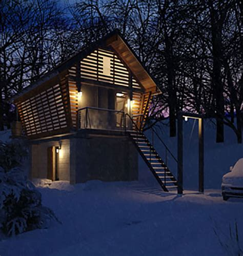 Build A Garage Plans eco friendly modern tiny cabin