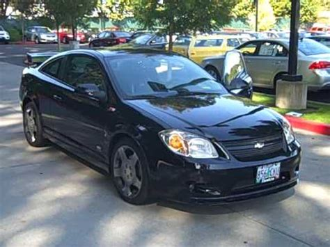 chevrolet cobalt ss coupe black sporty fast