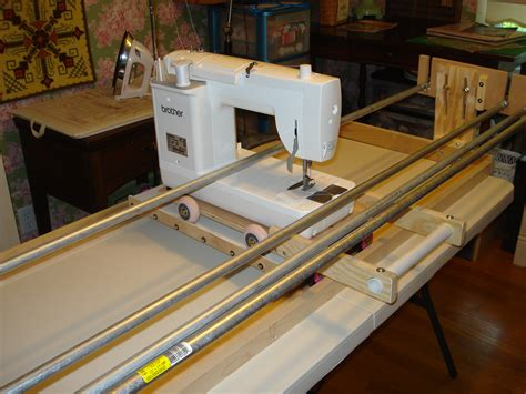 machine quilt frame   Thread: machine quilting frame
