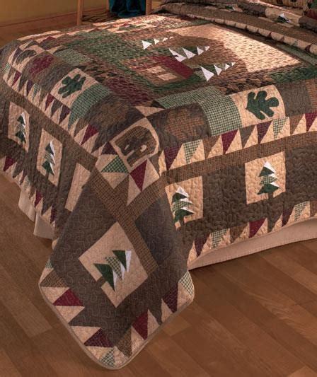 Rustic Quilt Bedding Sets Country Rustic Lodge Bedding Quilt Set Shams Rug Valance Big Pine Tree New Ebay