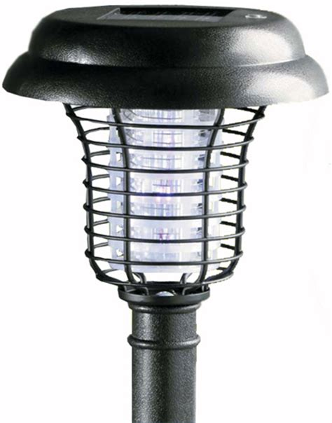 journey s edge solar decorative led light and bug zapper