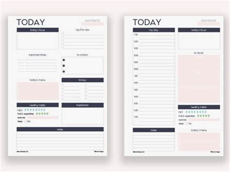 a5 printable organization set daily planner to do list 25 best ideas about personal planners on pinterest diy