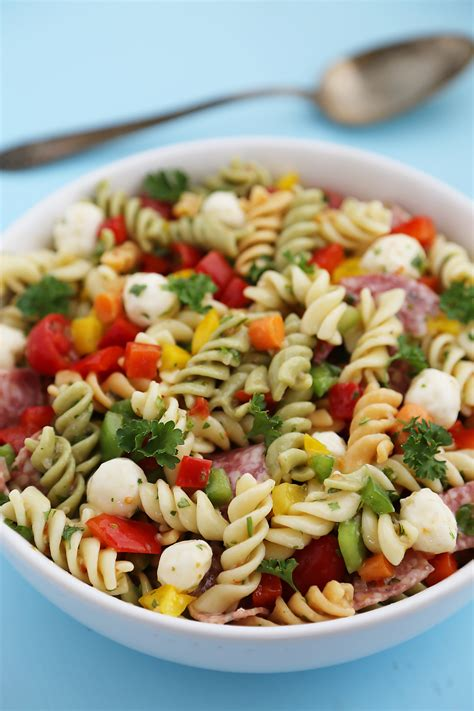 cold pasta salad with italian dressing italian pasta salad