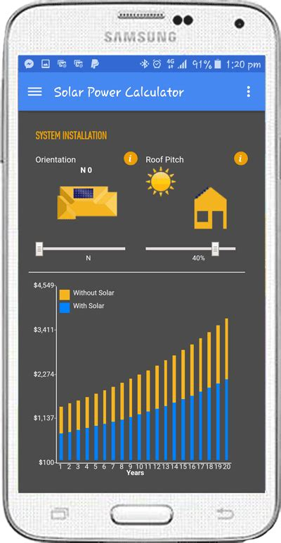 home solar panel calculator solar energy news app free from play and app store