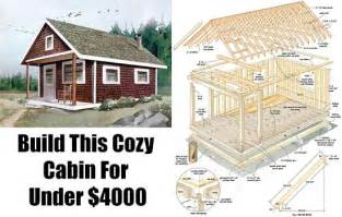 How To Build A Cheap Cabin build this cozy cabin for 6000 diy cabin shtf and