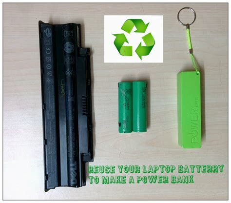 how to make laptop charger work how to make a power bank from used laptop battery