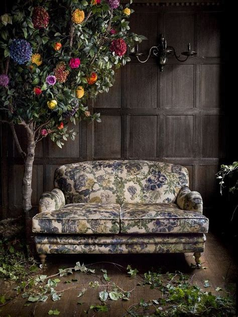 floral print fabric sofas flower tree floral print fabric and fabric sofa on pinterest