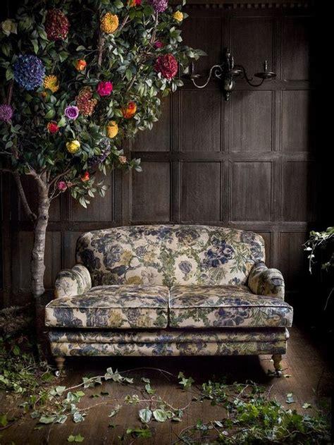 sofa prints flower tree floral print fabric and fabric sofa on pinterest