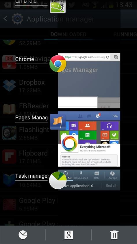 how to check for and terminate background apps in android ghacks tech news - Task Manager For Android Phone