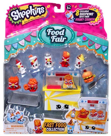 Shopkins Food Fair Fast Food Collection 1 shopkins food fair fast food collection theme pack on sale