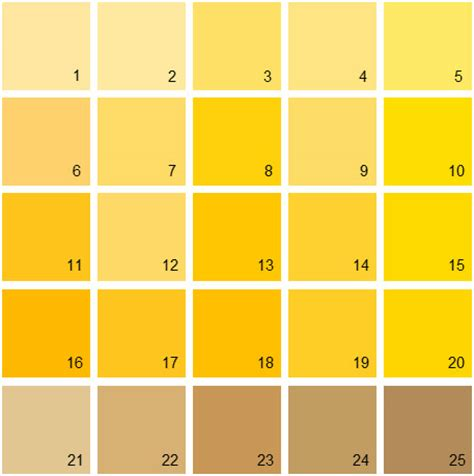 shades of yellow paint yellow paint colors home design