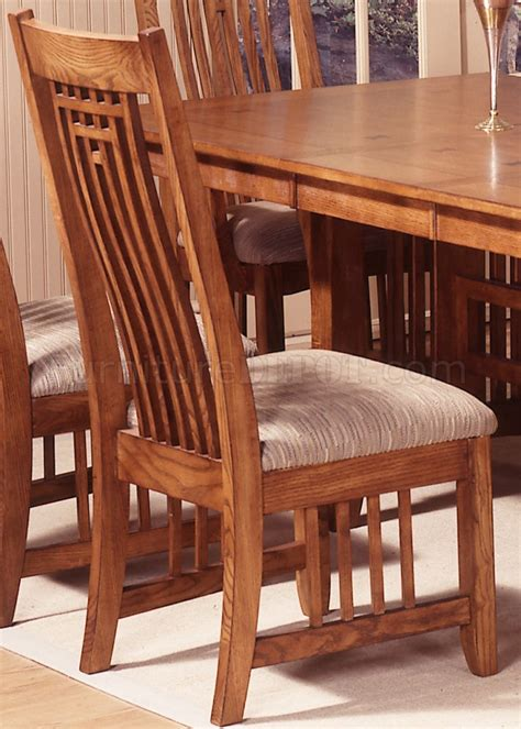 Casual Dining Room Table Mission Oak Finish Casual Dining Room Table W Options