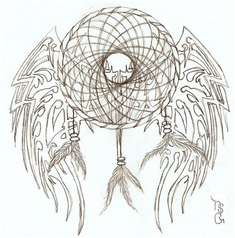 tribal dreamcatcher tattoo designs catcher tattoos