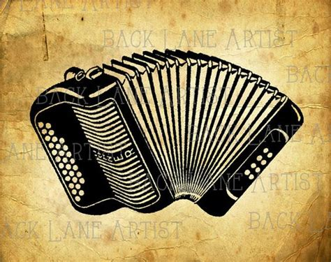 accordion tattoo vintage hohner accordion musical instrument by