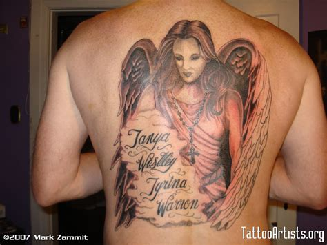 guardian angel tattoo johnny guardian angel with names guardian angel tattoos