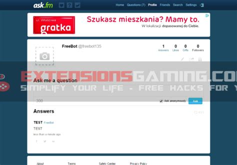 ask fm followers ask fm hack extensions gaming