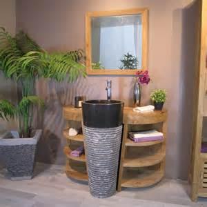 vente privee meuble salle de bain teck florence wanda 9679