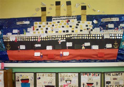 titanic class rooms titanic disaster classroom display photo photo gallery sparklebox