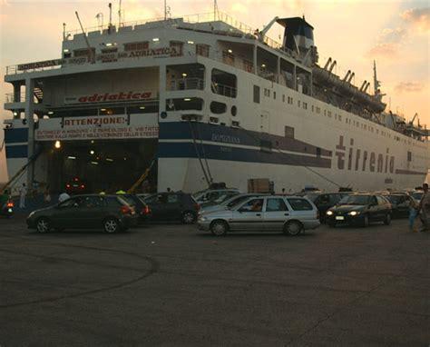porto di bari traghetti bari durazzo sulla nave ritorno tutte le notizie