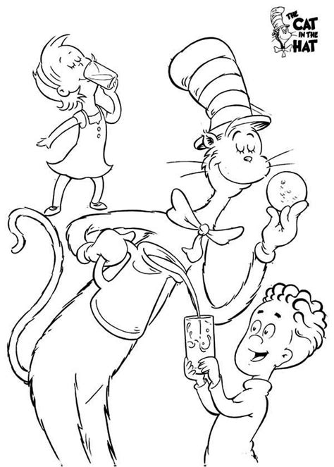 dr seuss birthday coloring sheet coloring pages