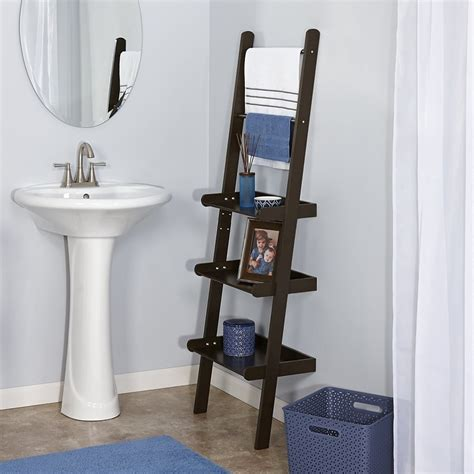 ladder shelf bathroom 11 best bathroom ladder shelves for toilet storage reviews