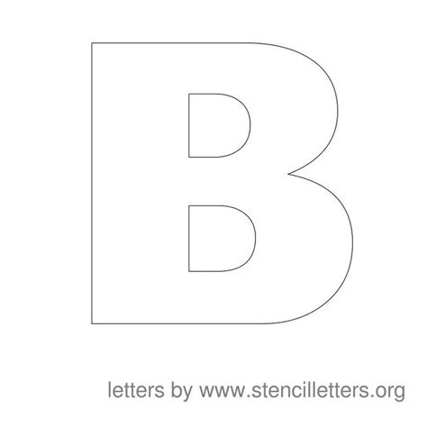 letter pattern pinterest large stencil letters alphabet b julie m warlick