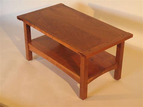 custom craftsman coffee table by callentine