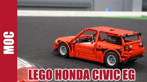 lego honda lego technic motorized honda civic eg hatchback