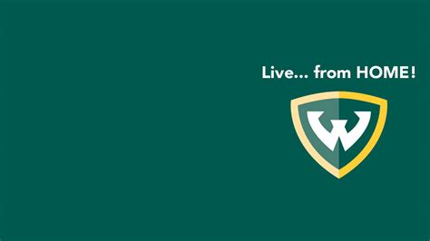 virtual backgrounds social media wayne state university