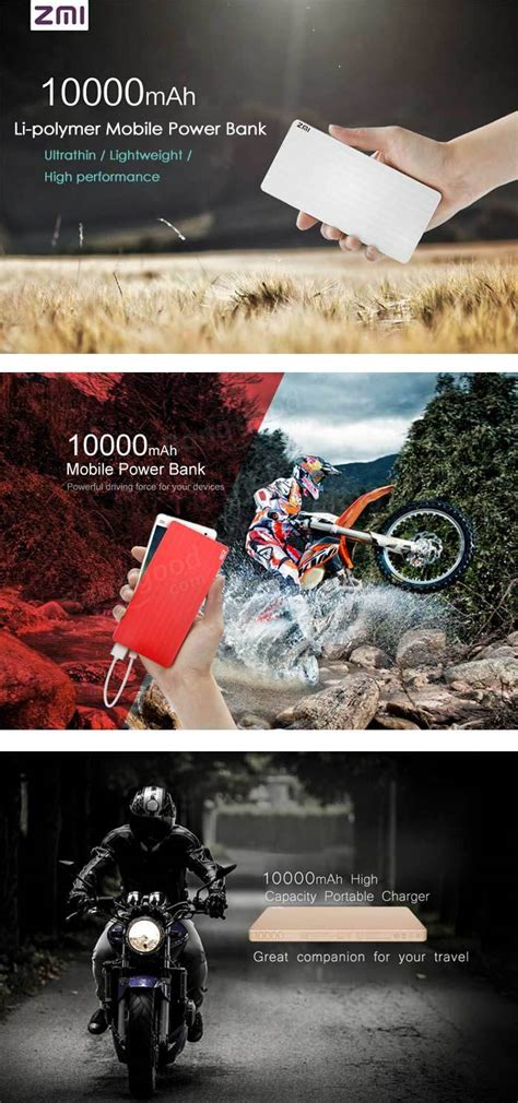 Fm Sale Xiaomi Power Bank 2 Fast Charging 10000mah Black Original original xiaomi zmi 10000mah power bank fast charging for