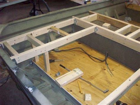 jon boat casting deck jon boat casting deck plans pictures to pin on pinterest