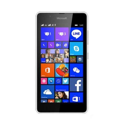 Foto Hp Nokia Lumia nokia lumia 540 8gb putih harga dan spesifikasi
