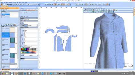 pattern making clothes software optitex virtual product 3d fashion design software for