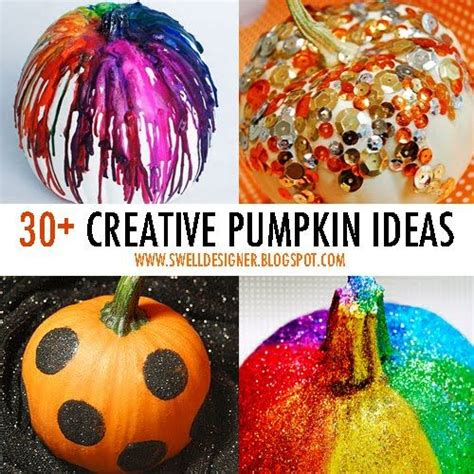 30 creative pumpkin decorating ideas holidays events