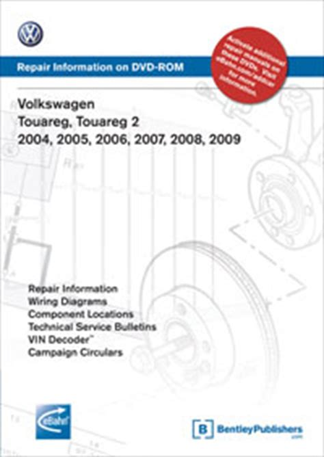 car repair manuals online free 2006 volkswagen touareg lane departure warning volkswagen touareg touareg 2 2004 2005 2006 2007 2008 2009 repair manual on dvd rom