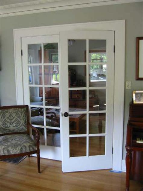 Interior Glass Doors White White Interior Doors With Glass Photo