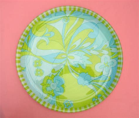 Decoupage On Plates - decoupage how to on glass plates images