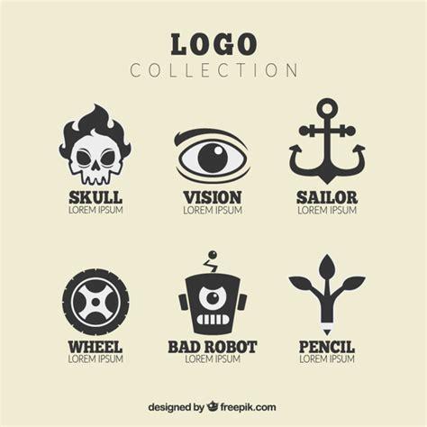 imagenes de letras geniales set de logos con geniales dise 241 os descargar vectores gratis