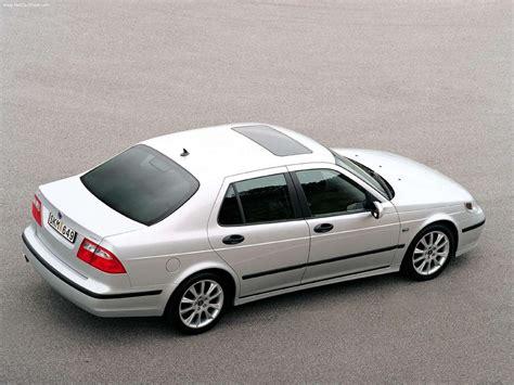 saab 95 aero sedan picture 14 of 25 rear angle my 2003
