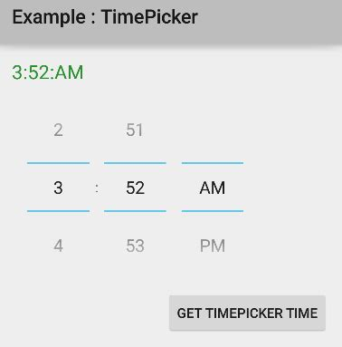 Android Get Current Time by How To Use Timepicker In Android