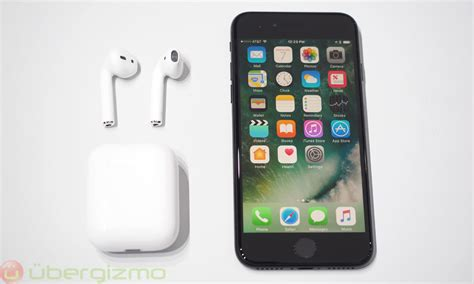 Apple Airpod Airpods Iphone 7 7 Plus Wireless Earphone Oem Ready iphone 7 impressions ubergizmo