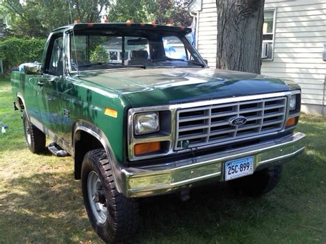 manual cars for sale 1984 ford f250 electronic valve timing redrocket377 1984 ford f250 regular cab specs photos modification info at cardomain