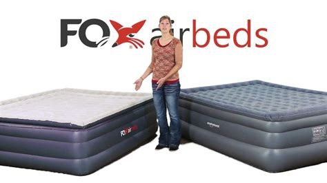 smart air beds fox airbeds vs smart air beds king air mattress