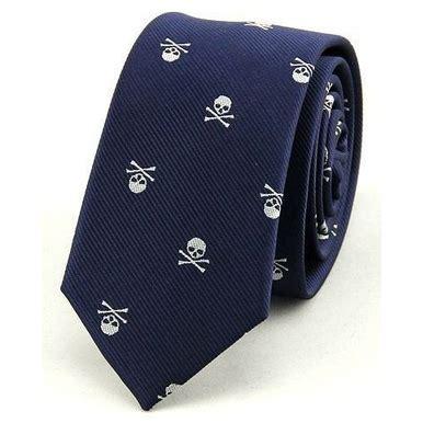 Dasi Formal Pria Motif Garis dasi executive kantor formal pria motif skull blue jakartanotebook