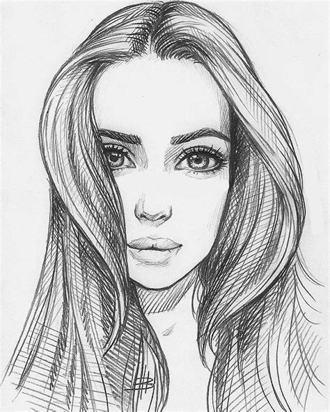 pretty girl face drawing 25 best ideas about beautiful girl drawing on pinterest