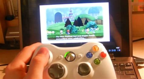 wii for android technology play wii on an android tablet with an xbox 360 controller